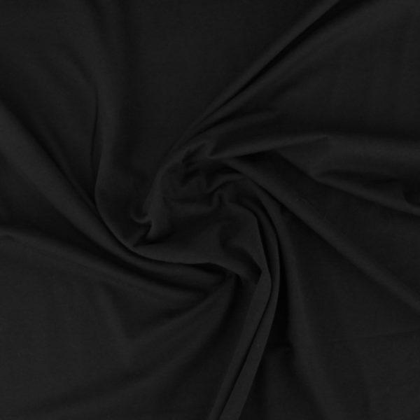 Jersey-coton-bio-noir
