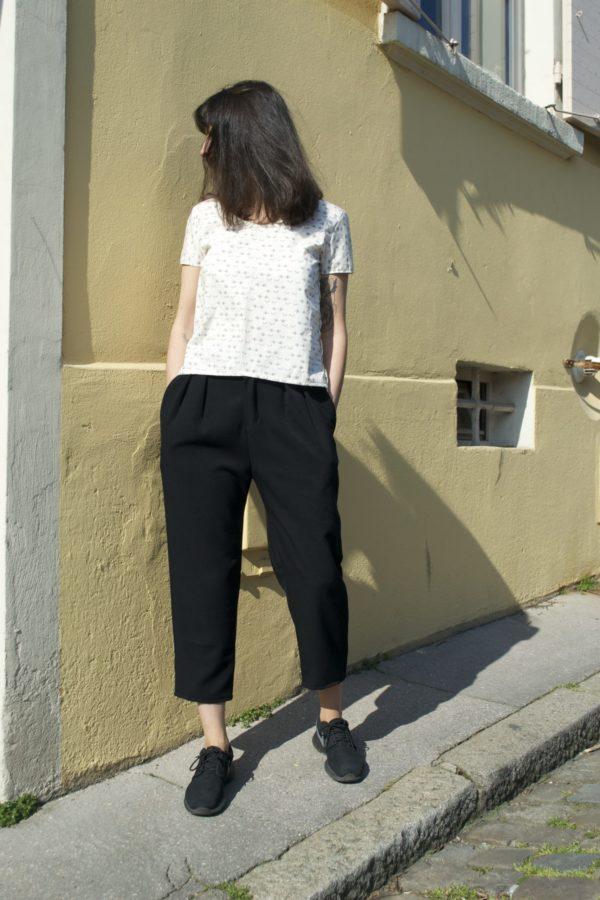 Pantalon vêtement couture femme annecy createur prêt à porter