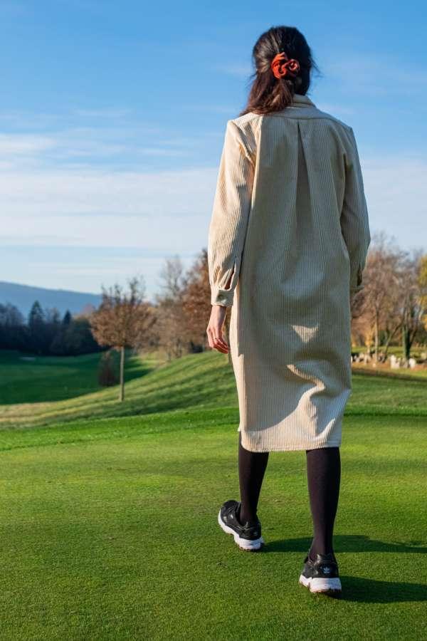 Robe-chemise-velvette-pretaporter-femme-vetement-createur-dos
