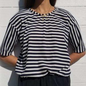 vêtement femme couture haut teeshirt marinière createur annecy