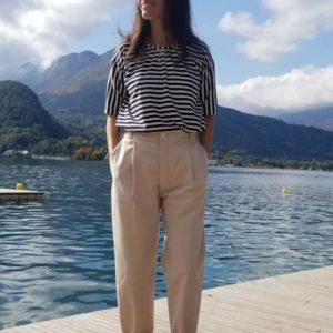 vetement-femme-pantalon-chino-createur-annecy-devant-lac