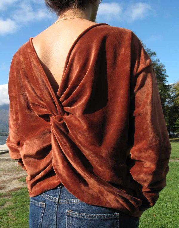 vêtemnet femme créateur couture annecy pull pret à porter velours