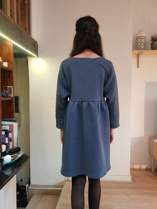 vetement-femme-robe-dory-molleton-bleu-jean-createur-annecy-do